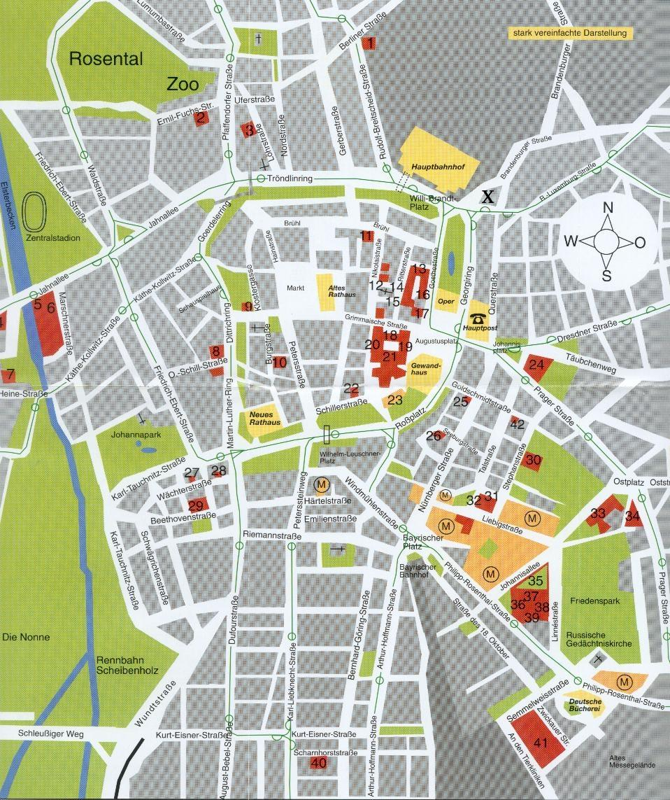 CompPhys Workshop - Map of leipzig